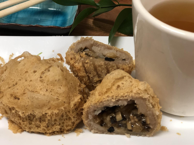 【一点心】Fried Taro Dumplings 蜂巢芋角 3pcs(Thursday and Friday)