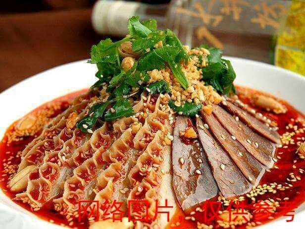 【湘浙汇】Sliced beef and ox organs in chili sauce夫妻肺片(CLOSED MONDAY)