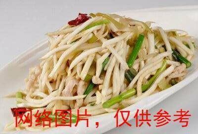 【湘浙汇】Water bamboo with pork茭白肉丝(CLOSED MONDAY)