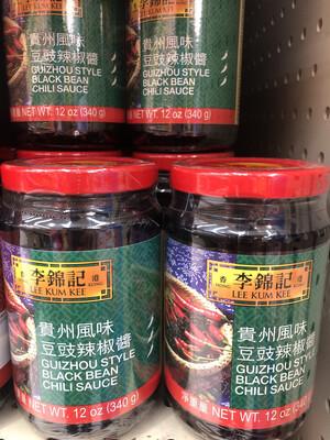 【RBG】李锦记 贵州风味豆豉辣椒酱 12oz