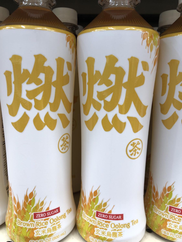 【RBG】元气森林燃茶 玄米乌龙茶 无糖 500ml