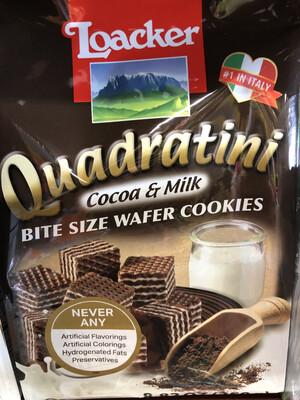 【RBG】Loacker 意大利乐家威化饼 Cocoa & Milk Flavor 250g