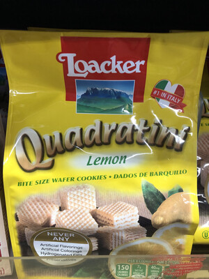 【RBG】Loacker 意大利乐家威化饼 柠檬口味 250g