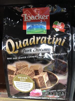 【RBG】Loacker意大利乐家威化饼 Dark Chocolate Flavor 250g