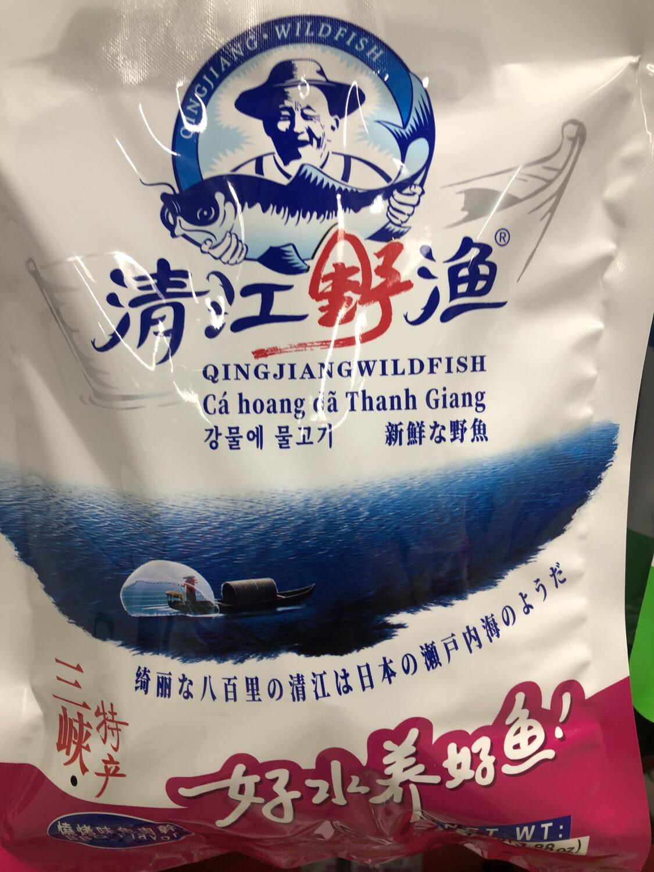 【RBG】清江野渔 烧烤味鱼肉干 三峡特产 110g