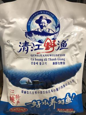 【RBG】清江野渔 泡椒味鱼肉干 三峡特产 110g