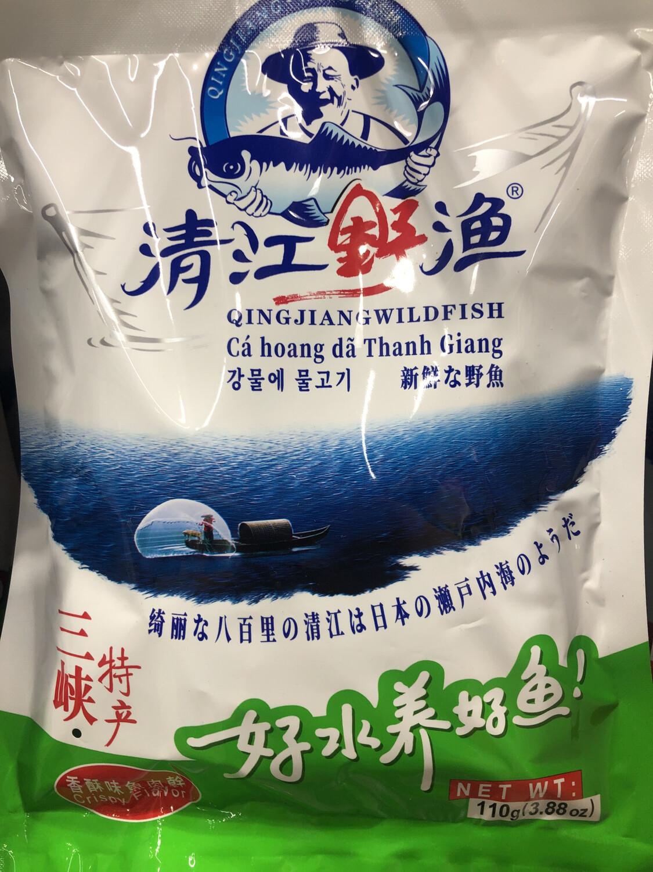 【RBG】清江野渔 香酥味鱼肉干 三峡特产 110g