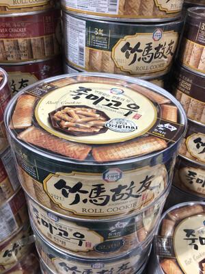 【RBG】Korea Coconut Cracker 韩国卷心蛋卷 饼 椰子味蛋卷 365g