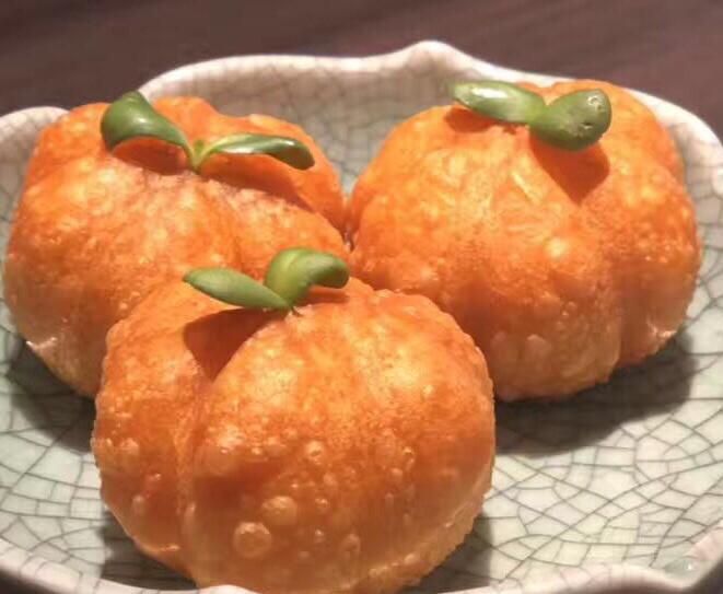 【一点心】Rose Duck pumpkin puffs 雪菜鸭肉南瓜果 (Thursday & Friday)