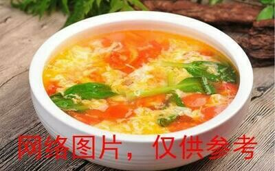 【面面聚道】Tomato and Friend Egg Soup番茄煎蛋汤