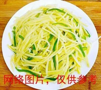 【面面聚道】shredded Potatoes with Green Pepper 青椒土豆丝