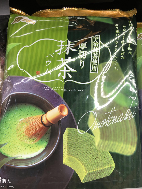 【RBF】Marukin Matcha Cake日本抹茶厚切小蛋糕 8枚入