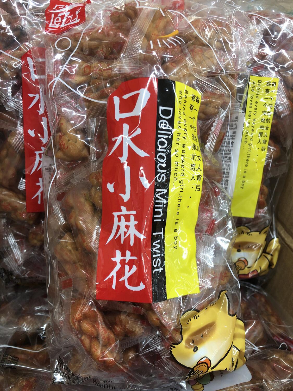 【RG】乐滋 口水小麻花 黑糖味500g