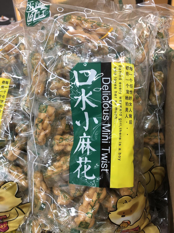 【RG】乐滋 口水小麻花 芝麻味500g
