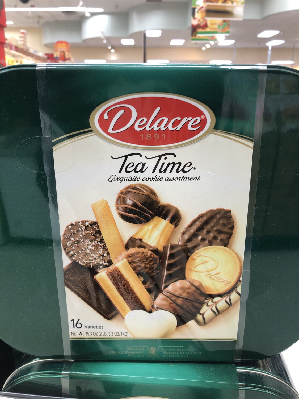 【RG】喜乐嘉茶饼干 16种小饼干拼装礼盒 2LB
