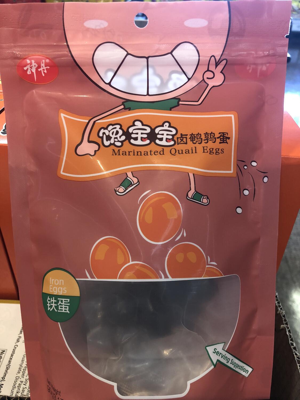 【RDG】馋宝宝卤鹌鹑蛋 铁蛋味 6pcs 168g