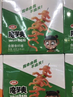 【RBG】卫龙 魔芋爽 酸辣素毛肚 含膳食纤维 18g*20