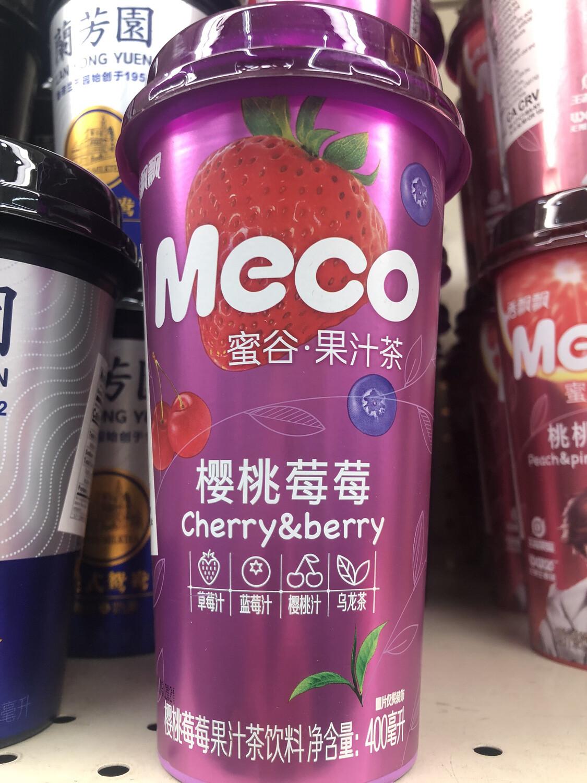 【RBG】Meco Cherry & Berry 蜜谷果汁茶 樱桃草莓