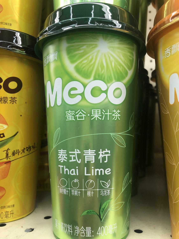 【RBG】Meco Thai Lime 蜜谷果汁茶 泰式青柠