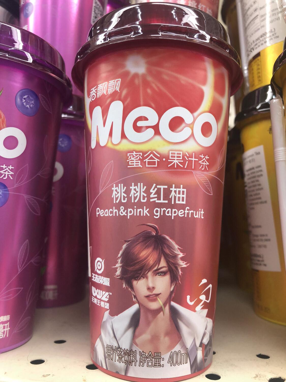 【RBG】Meco Peach & Pink Grapefruit 蜜谷果汁茶 桃桃红柚