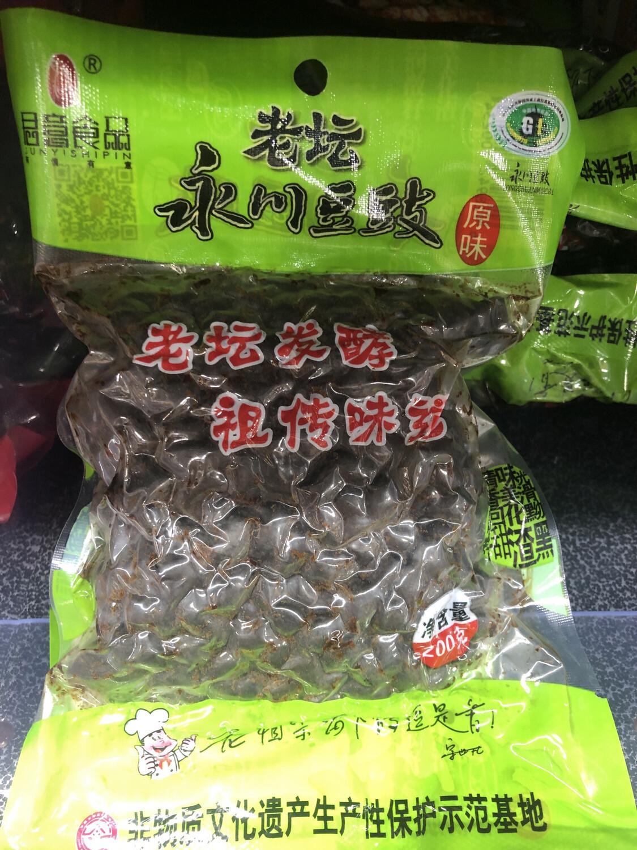 【RBG】老坛永川豆豉 原味 200g