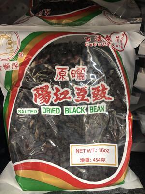 【RBG】金狮 Salted Dried Black Bean 阳江豆豉 16oz