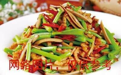 【滋味湖南】Sauteed Shredded Pork, Dried Bean Curd & Celery唐芹香干炒肉丝