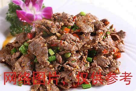 【滋味湖南】 Cumim Beef with Cilantro孜然牛肉
