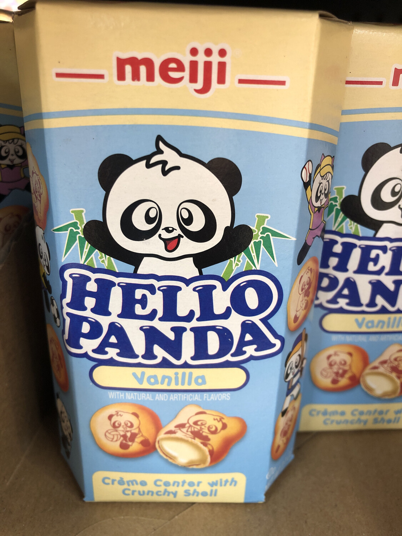 【RBG】Meiji Hello Panda 明治小熊饼干 香草味 60g