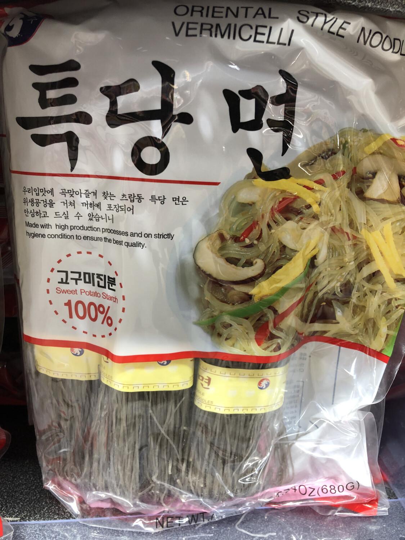 【RBG】秀牌 韩国红薯粉680g