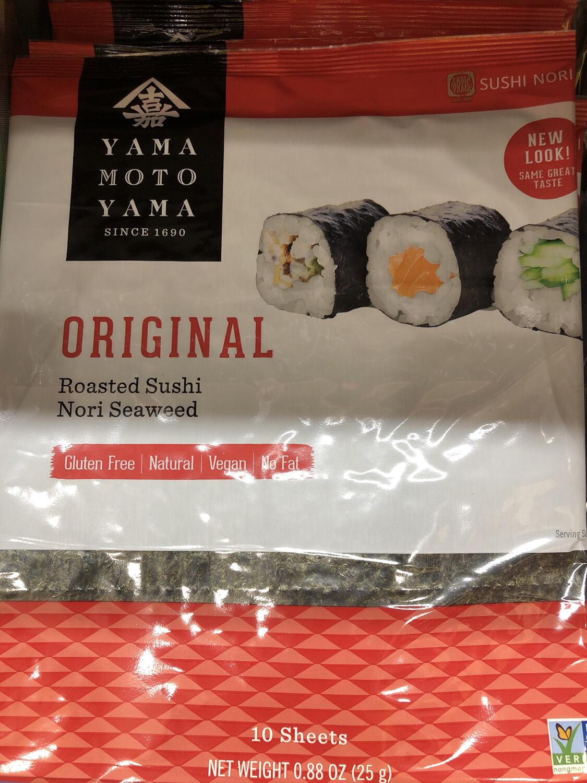 【RBG】有机 原烤 寿司海苔 紫菜片 10片入 25g