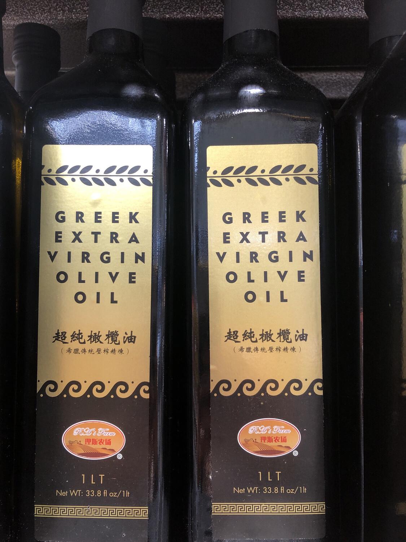 【RBG】超纯橄榄油 33.8fl. oz. 希腊传统压榨工艺