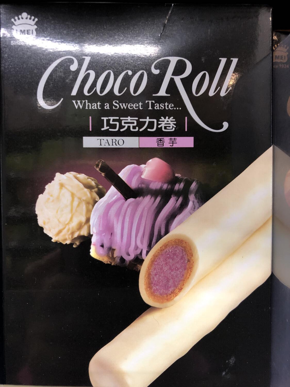 【RDG】IMEI ChocoRoll Taro Flavor义美香芋巧克力卷 137g