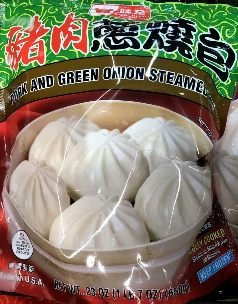 【RBF】Pork and Green Onion Steamed Bun 味全 猪肉葱烧包 23oz(650g)