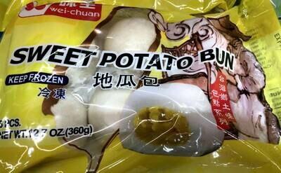 【RBF】Wei-Chuan  Sweet Potato Bun 味全 地瓜包 12.7oz(360g)