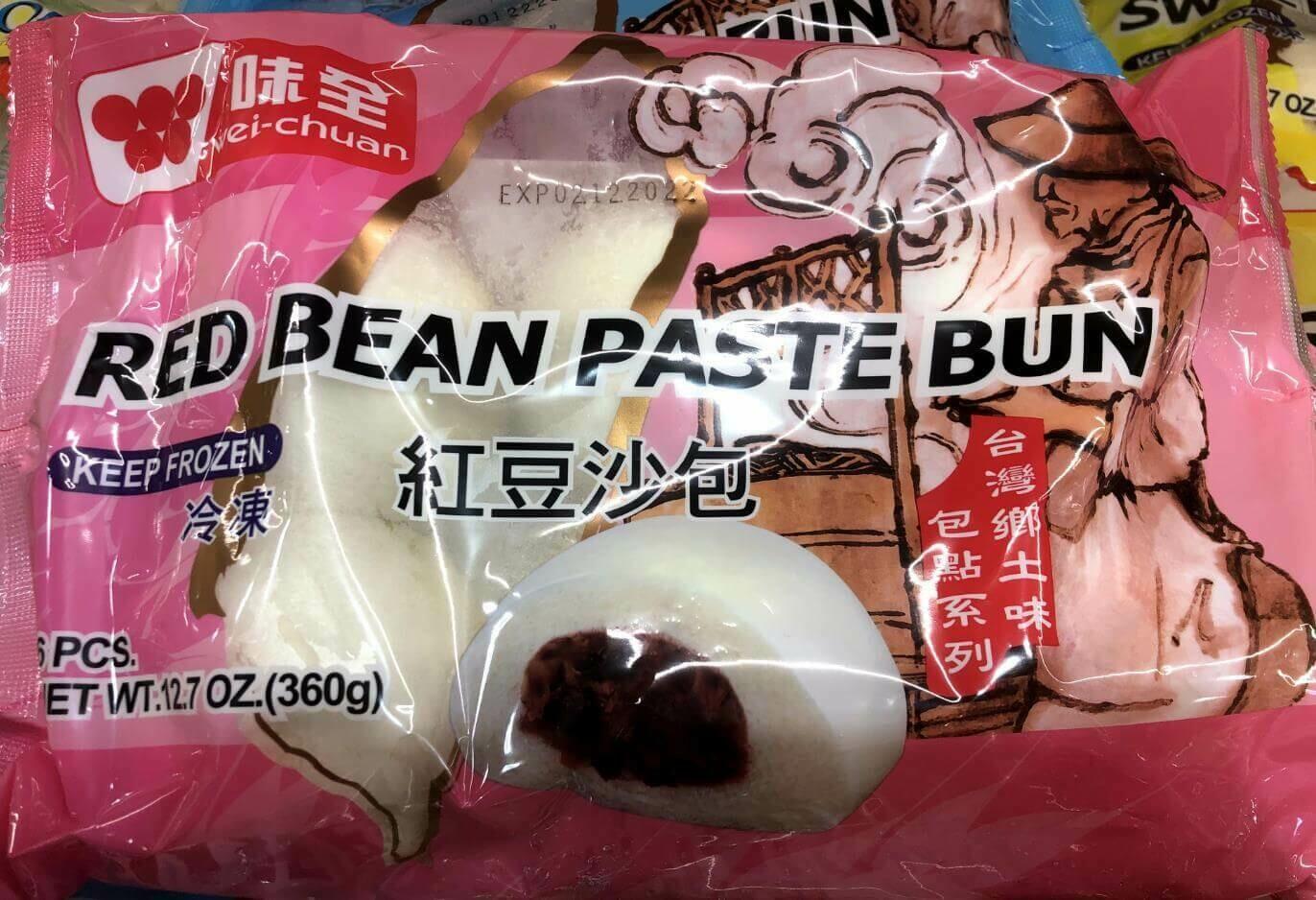 【RBF】Wei-Chuan  Red Bean Paste Bun 味全 红豆沙包 12.7oz(360g)