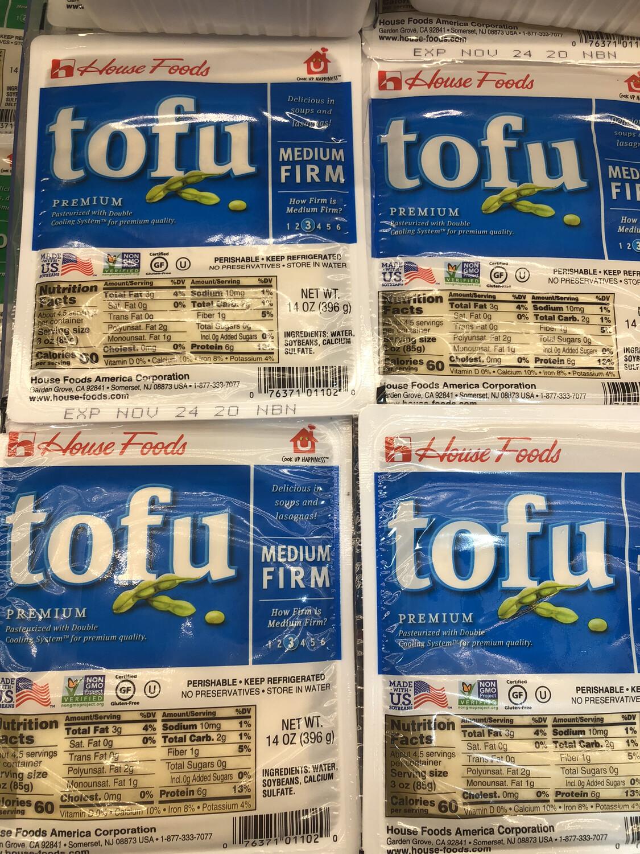 【RBF】HF Med Firm Tofu 中豆腐 14oz