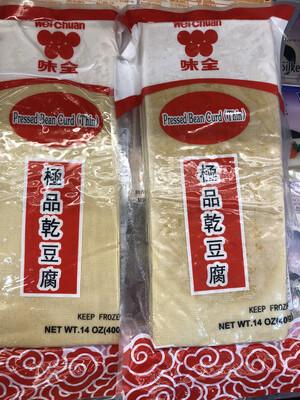 【RF】Pressed Bean Curd (Thin) 味全 极品干豆腐 14oz(400g)
