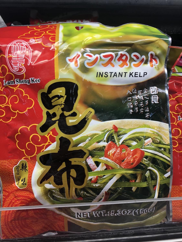 【RBF】 Instant Kelp 林生记辣拌海带丝 开袋即食 5.3oz