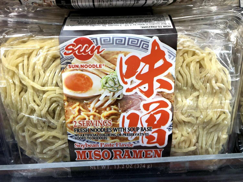 【RBF】Fresh Noodles Miso Flavor味增面 374g