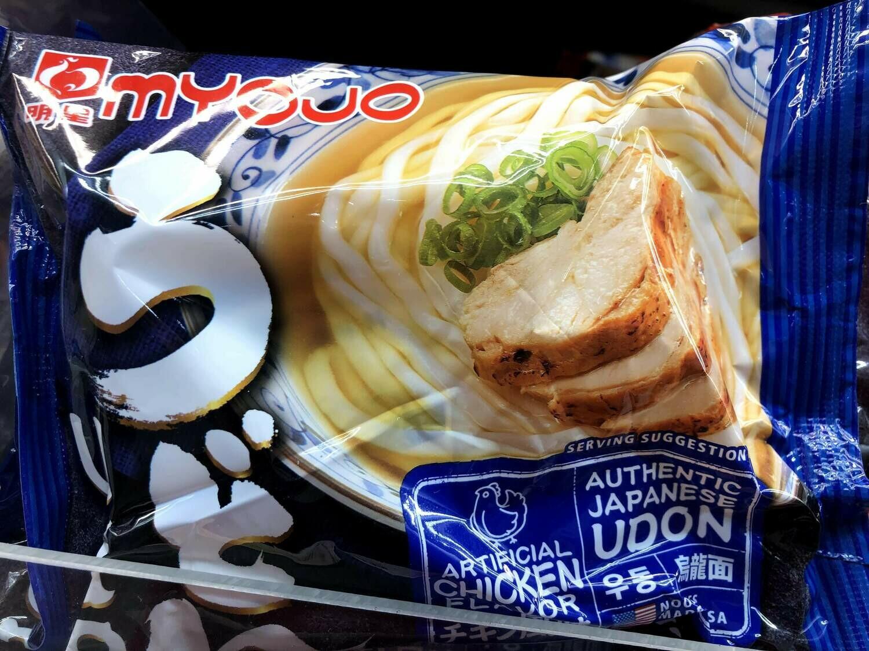 【RBF】Myojo Chicken Udon明星 鸡肉乌冬面7.22oz
