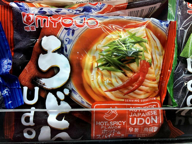 【RBF】Myojo Udon Noodles -H&S 明星 辣乌冬面7.22oz