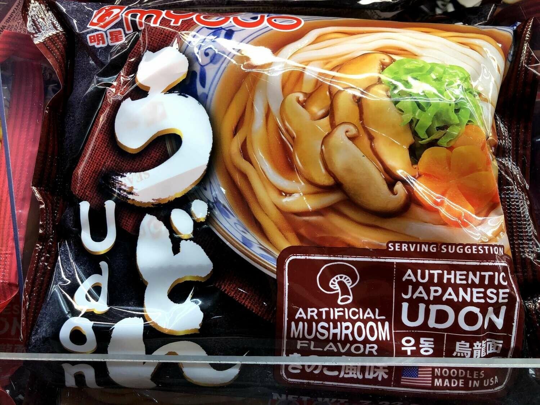 【RBF】Myojo Mushroom Udon明星 香菇乌冬面7.22oz