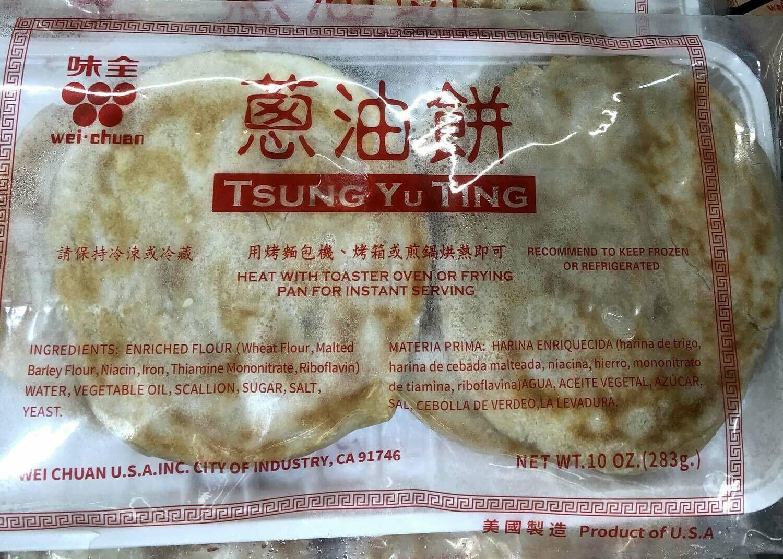 【RBF】Wei-Chuan Tsung Yu Ting  味全葱油饼 283g