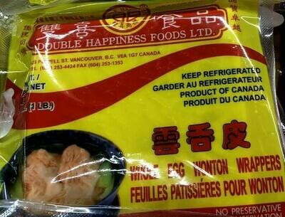 【RBF】Double Happiness Wonton Wrappers 双喜云吞皮16oz