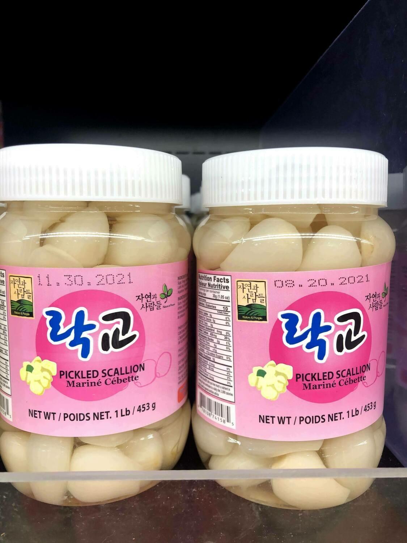 【RBF】Pickled Scallion 蒜头453g
