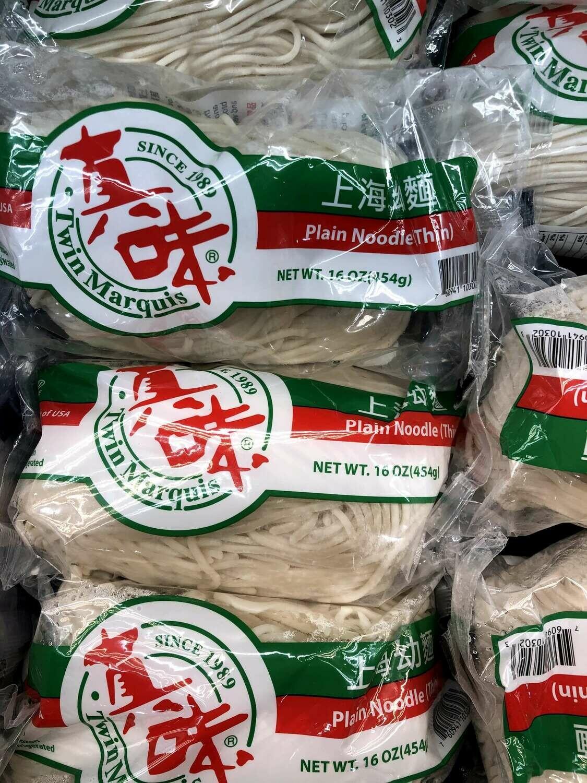 【RBF】Plain Noodle(Thin)真味 上海幼面16oz