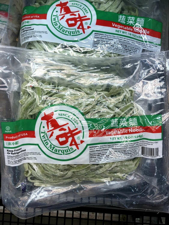 【RBF】T W Vegetable Noodle真味 蔬菜面16oz