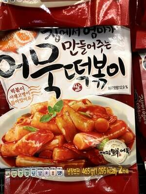 【RBF】Korean Rice Cake 韩国调味年糕条465g