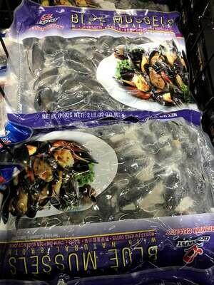 【RBS】Blue Mussels 原只蓝淡菜 2LB(907g)